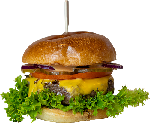 Burger Old Fashion Cheese